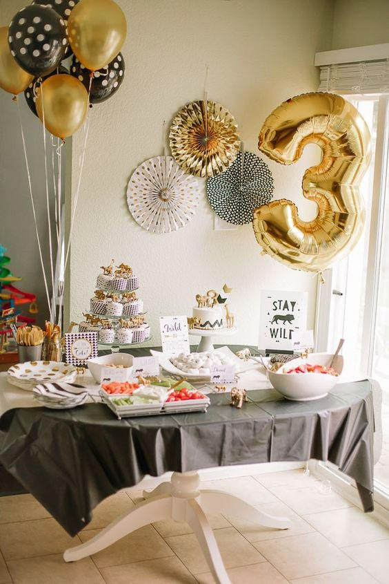 10 Year Old Birthday Decoration Ideas Fresh 10 Ideas for 3 Year Old Birthday Celebration Party Especialz