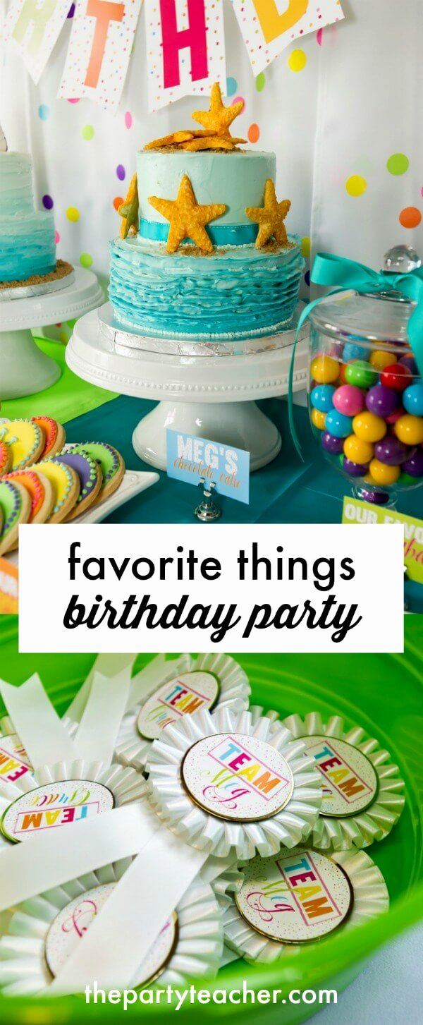 10 Year Old Birthday Decoration Ideas Unique My Parties Twins top Ten Birthday Party A Favorite Things