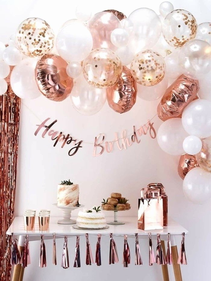 18th Birthday Decoration Ideas for Daughter Awesome ▷ 1001 18th Birthday Ideas to Celebrate the Transition