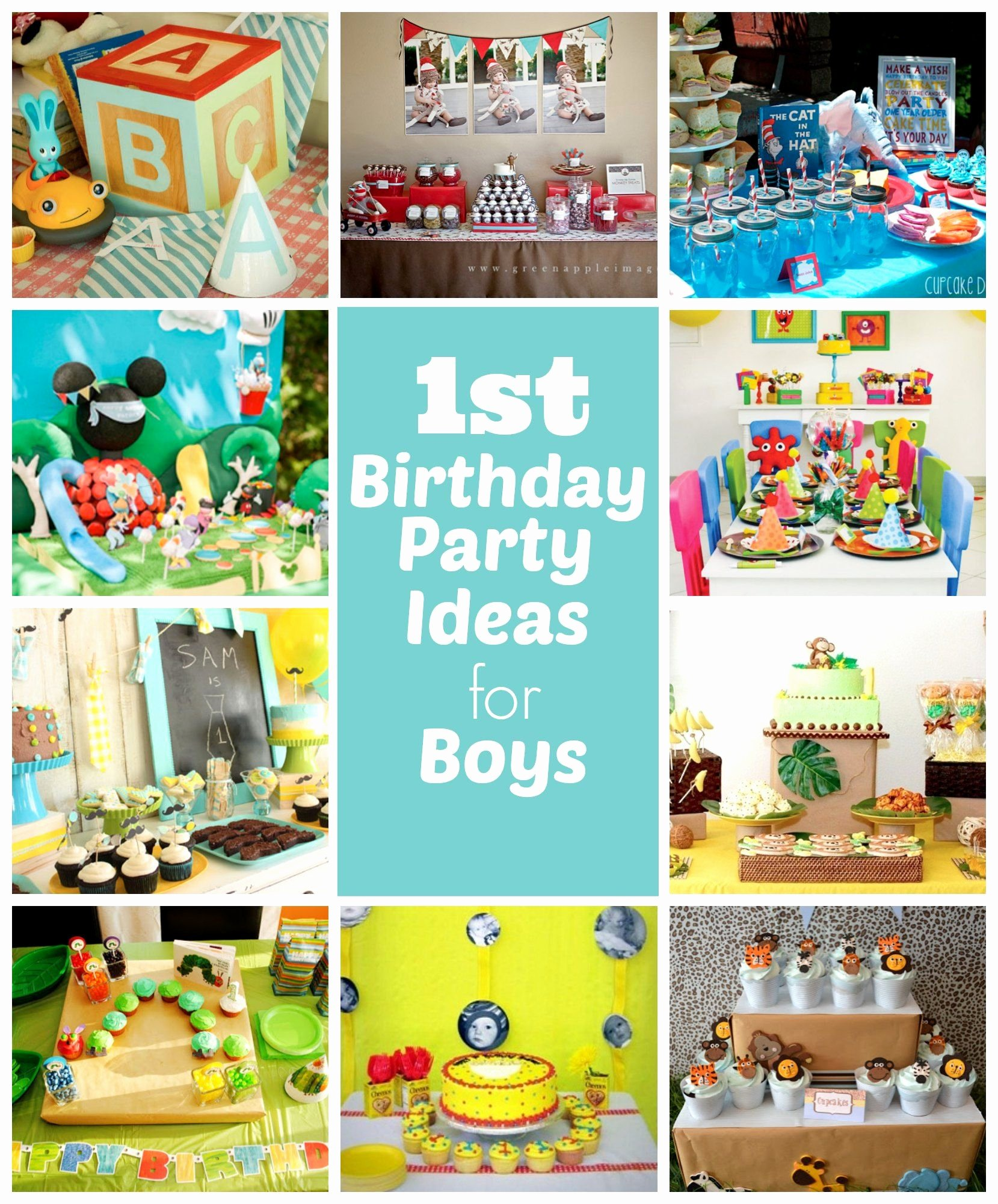 1st Birthday Decoration Ideas at Home for Boy Fresh 1st Birthday Party Ideas for Boys Right Start Blog