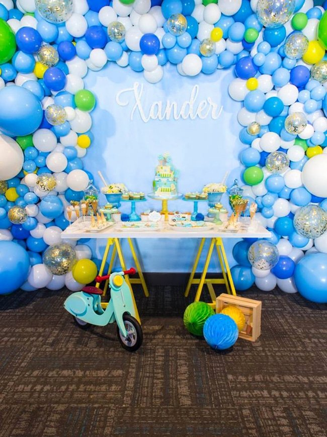 1st Birthday Decoration Ideas Boy Best Of 18 First Birthday Party Ideas for Boys Pretty My Party