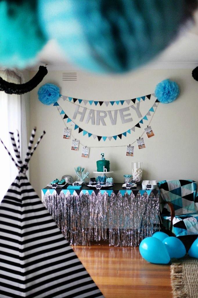 1st Birthday Decoration Ideas Boy Best Of Geometric 1st Birthday Party Project Nursery