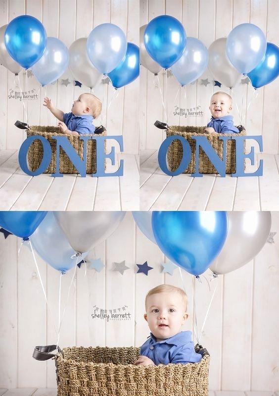 1st Birthday Decoration Ideas Boy Lovely First Birthday Graphy First Birthday themes First