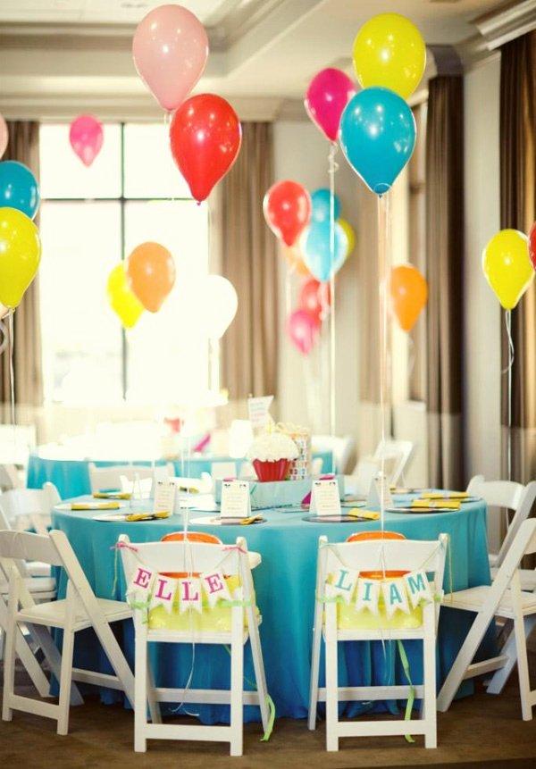 1st Birthday Decoration Ideas Boy Luxury Birthday Party Ideas for Boy Girl Twins