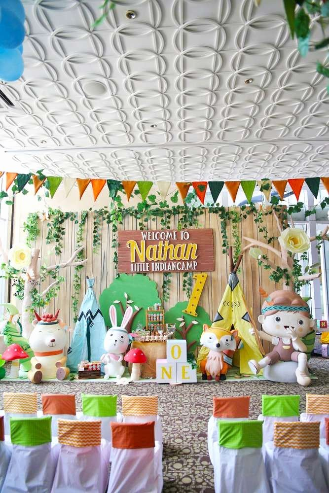 1st Birthday Decoration Ideas for Boy India Inspirational Camping Summer Camp Birthday Party Ideas
