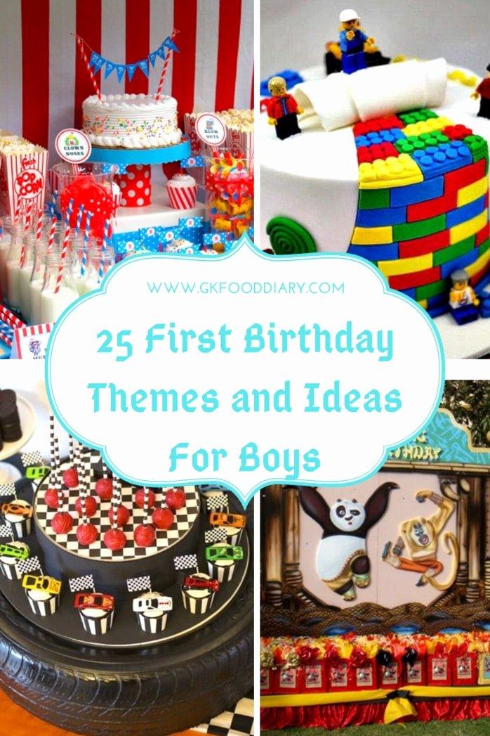 1st Birthday Decoration Ideas for Boy India Lovely 25 First Birthday themes and Ideas for Boys