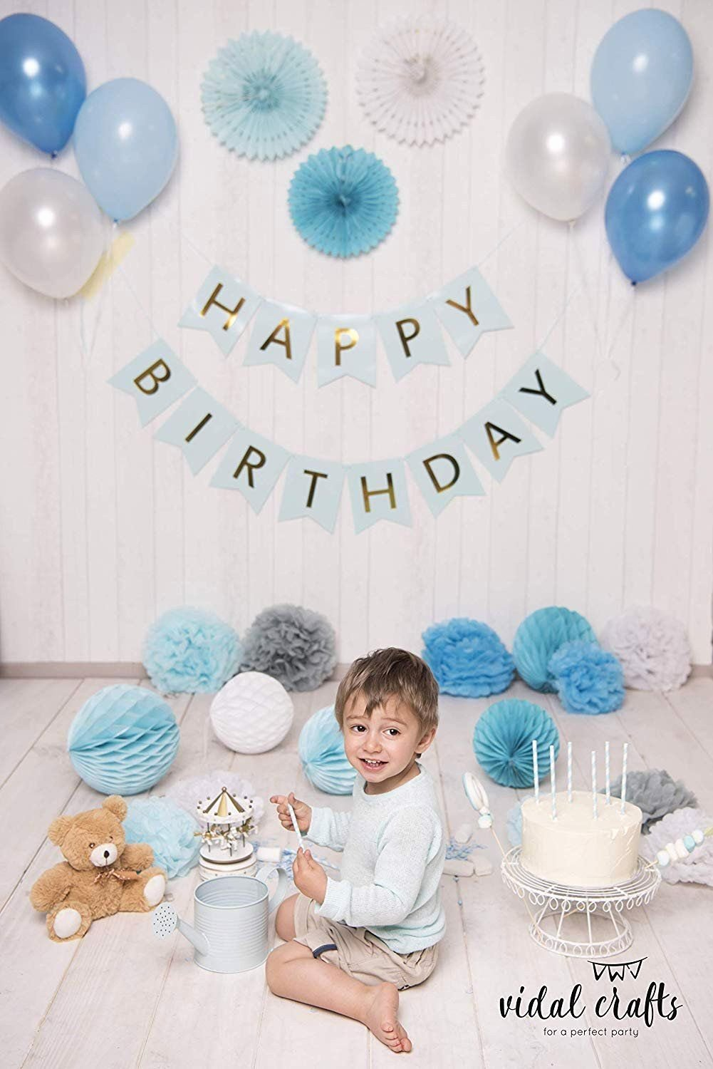 1st Birthday Decoration Ideas for Boys at Home Best Of Birthday Decoration Ideas at Home with Balloons Fresh Boy