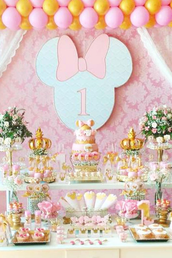 1st Birthday Decoration Ideas for Girl at Home Beautiful Don T Miss these 19 Popular Girl 1st Birthday themes