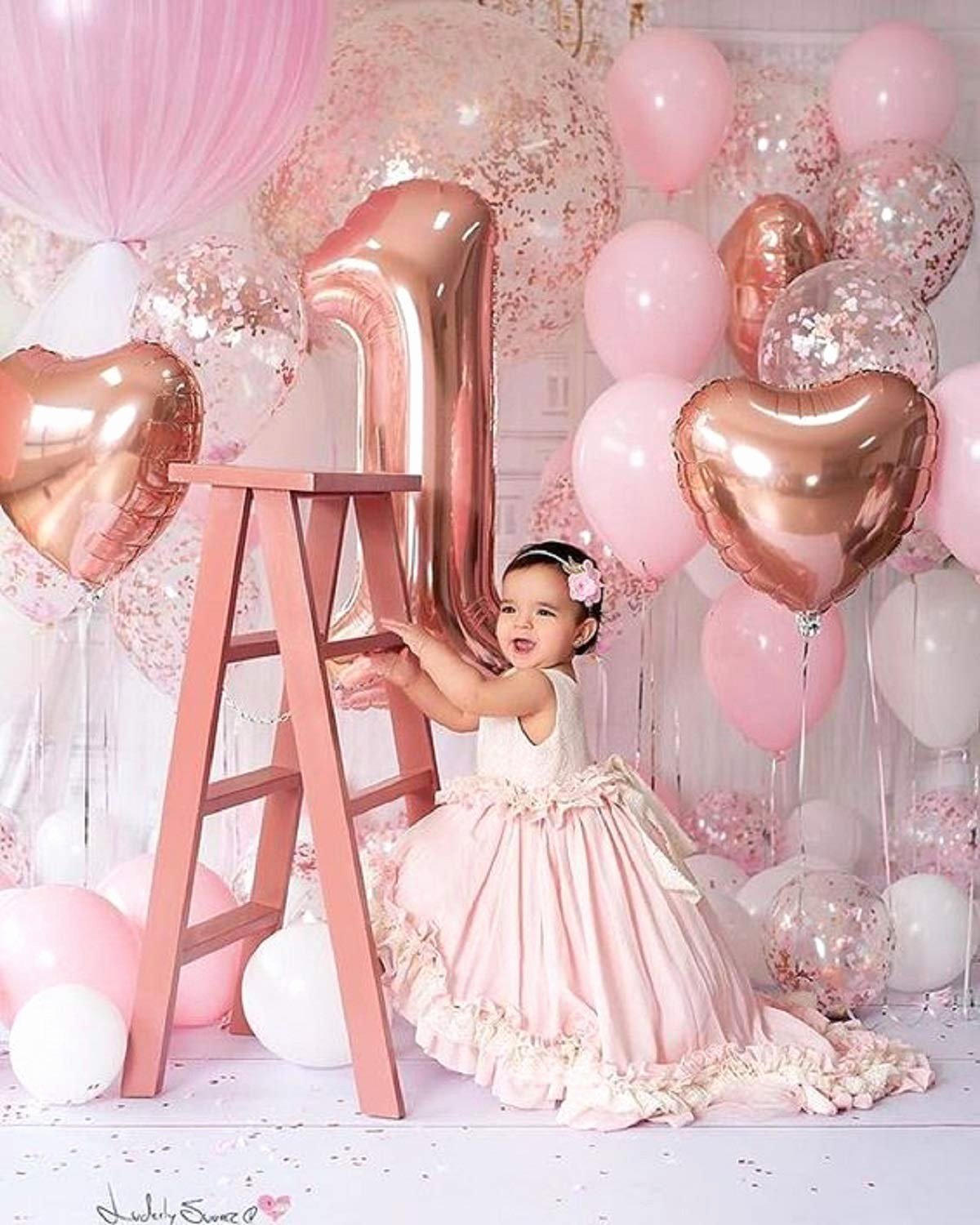 1st Birthday Decoration Ideas for Girl at Home Fresh Festiko 1st Birthday for Decoration First Birthday Party Decoration First Birthday Decorations Items