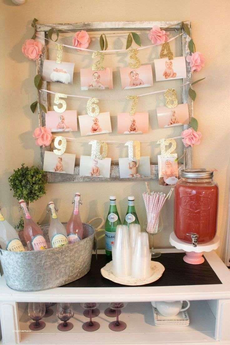 1st Birthday Decoration Ideas for Girl at Home Luxury Awesome 1st Birthday Party Simple Decorations at Home