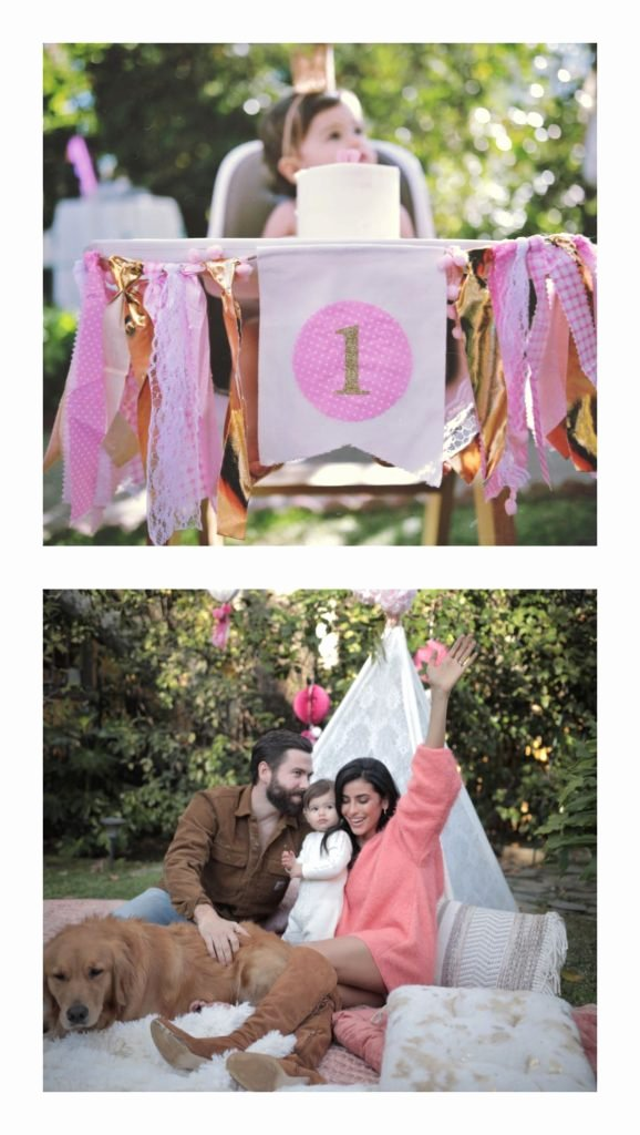1st Birthday Decoration Ideas for Girl at Home New Our Baby Girl S First Birthday Sazan