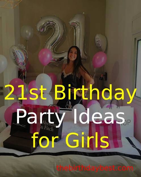21st Birthday Decoration Ideas at Home Best Of Best 21st Birthday Party Ideas for Girls In 2020