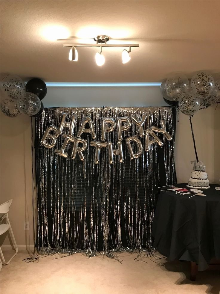 21st Birthday Decoration Ideas at Home Fresh New Years Party at My New House