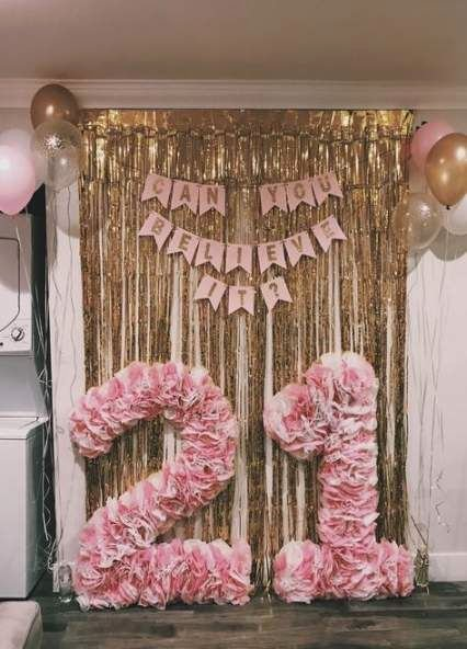21st Birthday Decoration Ideas Diy Best Of Party Diy 21st Birthday Ideas 21 Ideas