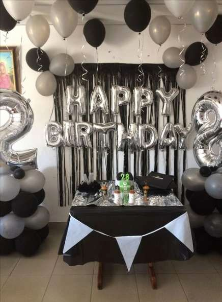 21st Birthday Decoration Ideas Diy New 33 Trendy Ideas Party Diy 21st Birthday Ideas