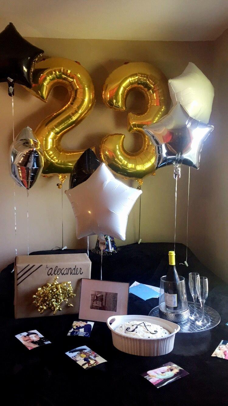 23rd Birthday Decoration Ideas Best Of Alex 23rd Birthday …