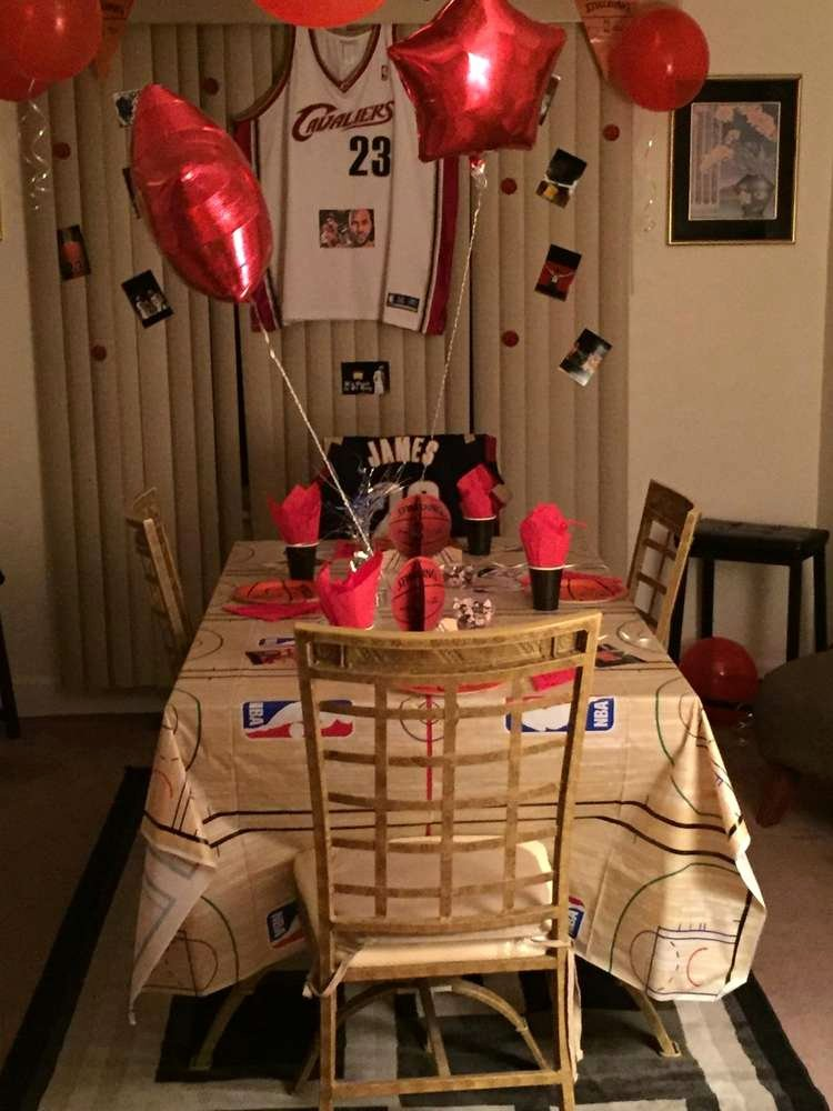 23rd Birthday Decoration Ideas Best Of Basketball Birthday Party Ideas 7 Of 21