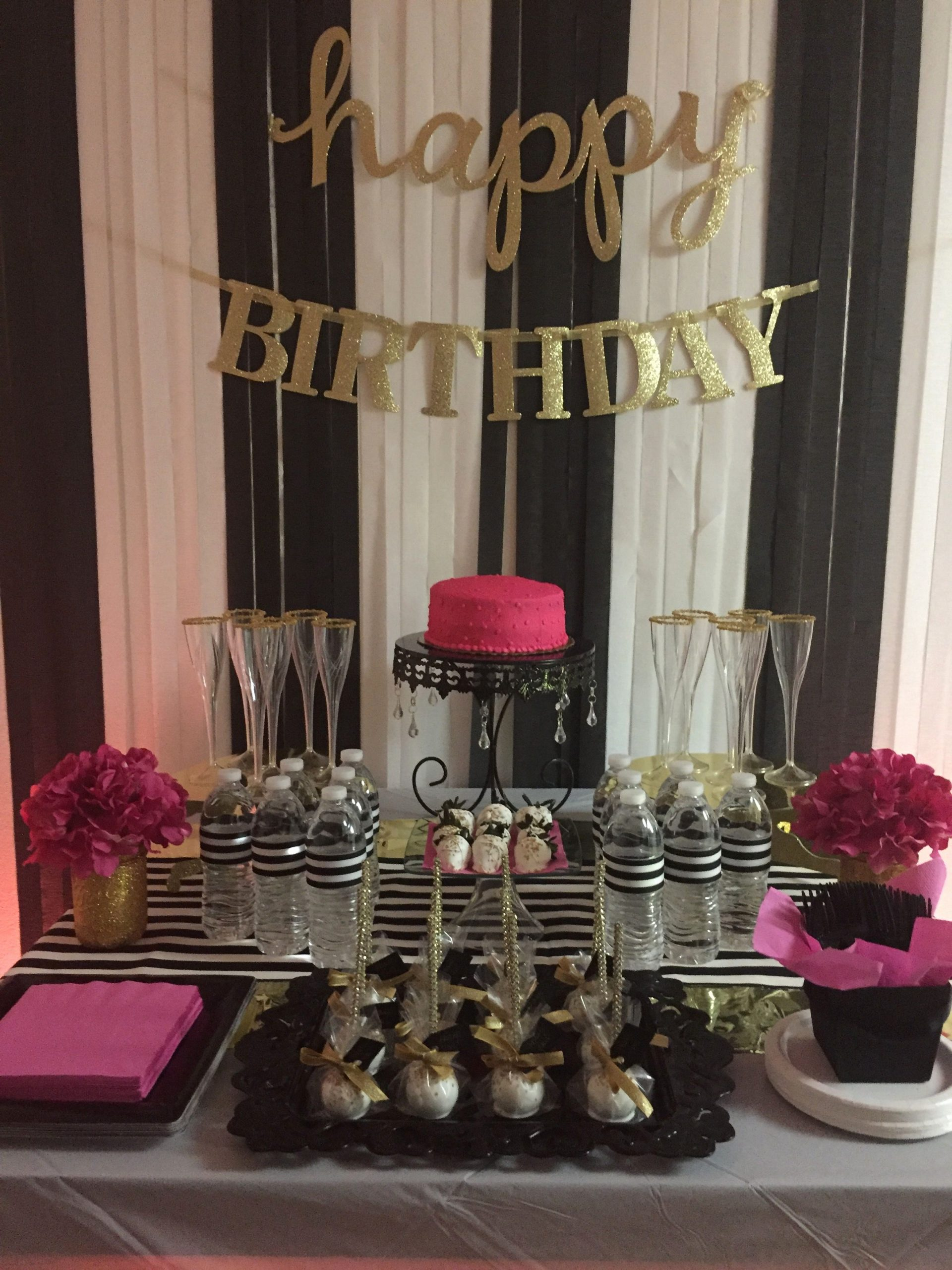 23rd Birthday Decoration Ideas Unique 40th Birthday Bash I Put to Her Kate Spade Inspired