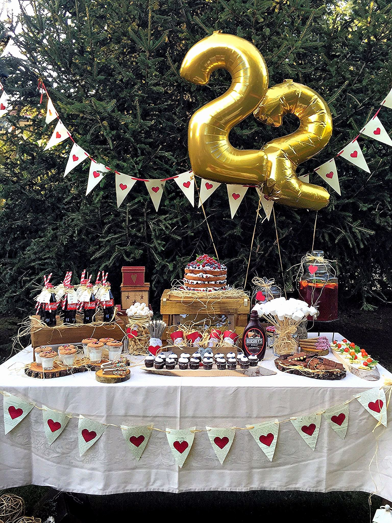 27th Birthday Decoration Ideas Inspirational 22nd Birthday Party Ideas for Her Fresh My 22nd Birthday