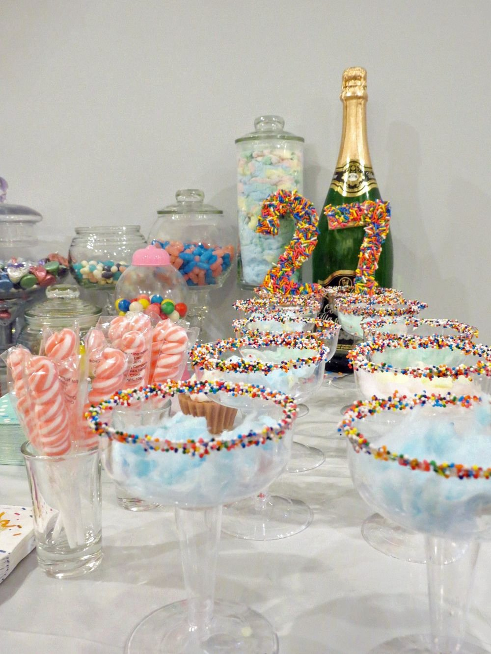 27th Birthday Decoration Ideas Inspirational My Sugar Sweet 27th Birthday Party — Party Hardiy