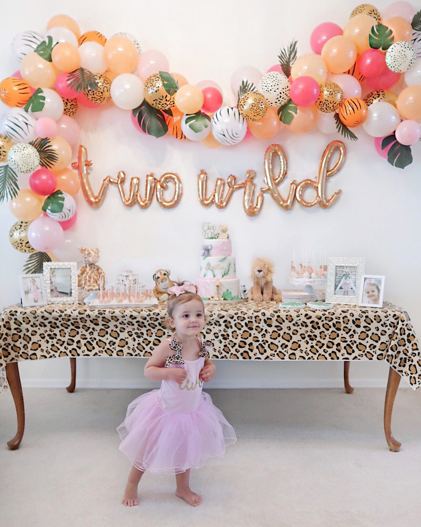2nd Birthday Decoration Ideas at Home for Girl Best Of Brie Bemis Rearick Safari Girl Birthday Party Summer