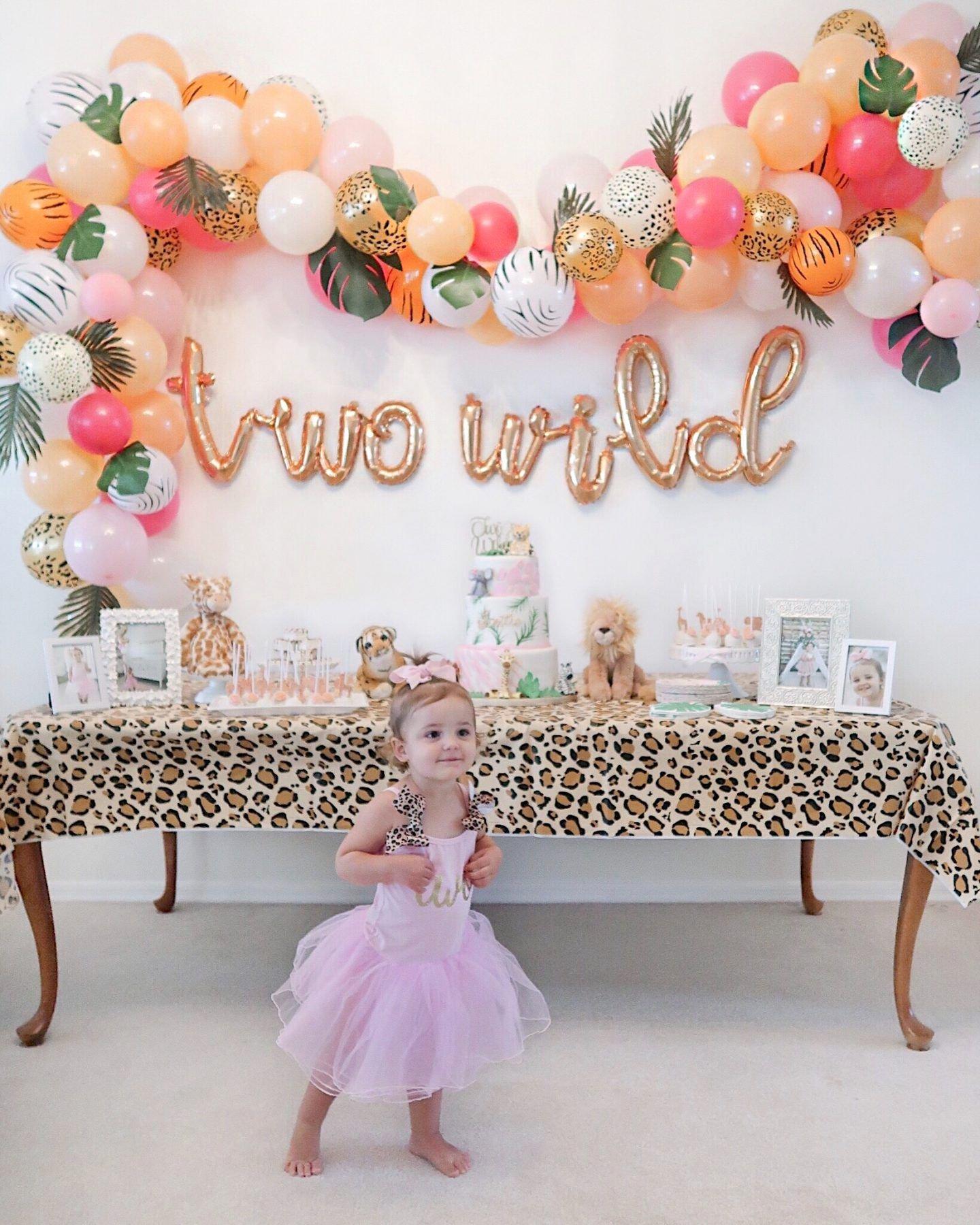 2nd Birthday Decoration Ideas at Home New Brie Bemis Rearick Safari Girl Birthday Party Summer