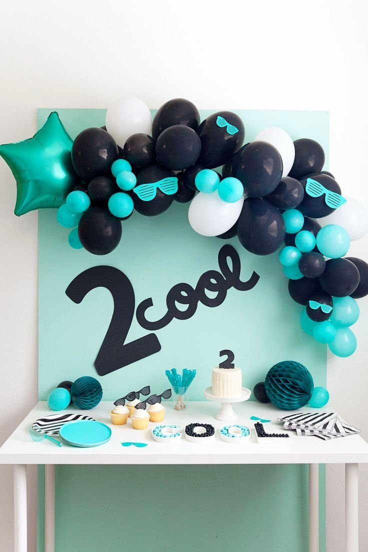 2nd Birthday Decoration Ideas for Boy Beautiful 2nd Birthday Party Idea Tell Love and Party