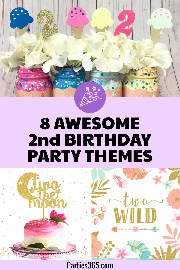 2nd Birthday Decoration Ideas Luxury 8 Awesome 2nd Birthday Party themes and Ideas