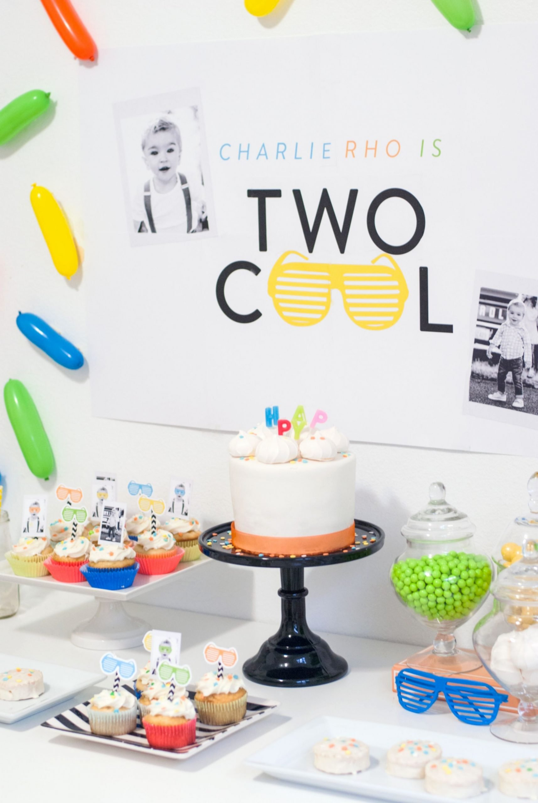 2nd Birthday Decoration Ideas Luxury A Two Cool Birthday Party that Ll Have You Reaching for Your