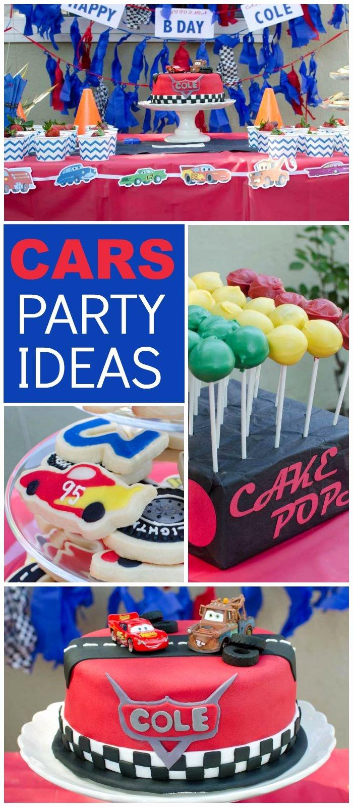 """3 Year Old Boy Birthday Decoration Ideas New Cars Lightning Mcqueen Birthday """"a Lightning Mcqueen"""