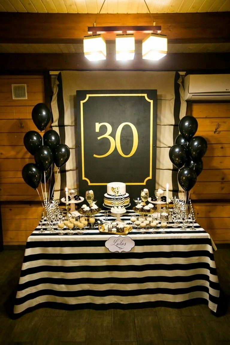 30th Birthday Decoration Ideas for Husband Fresh 30th Birthday 47