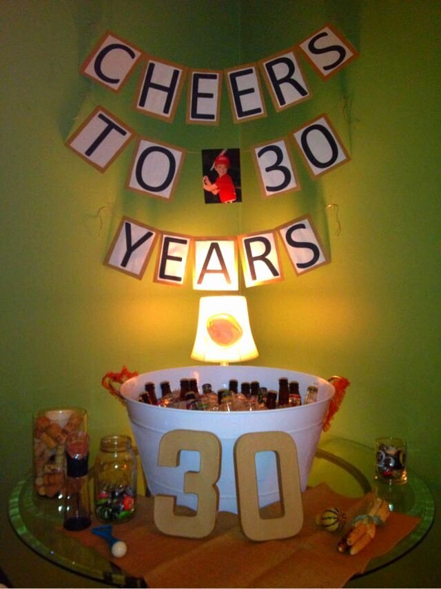 30th Birthday Decoration Ideas for Husband New 30th Birthday Decoration Ideas for Husband