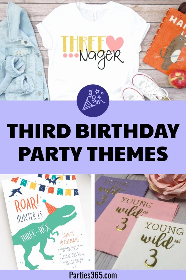 3rd Birthday Decoration Ideas for Boy Best Of 3 Spectacular Third Birthday Party themes