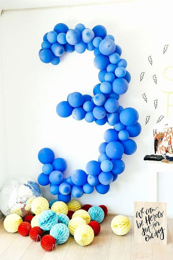 3rd Birthday Decoration Ideas for Boy Best Of Modern Super Hero 3rd Birthday Party