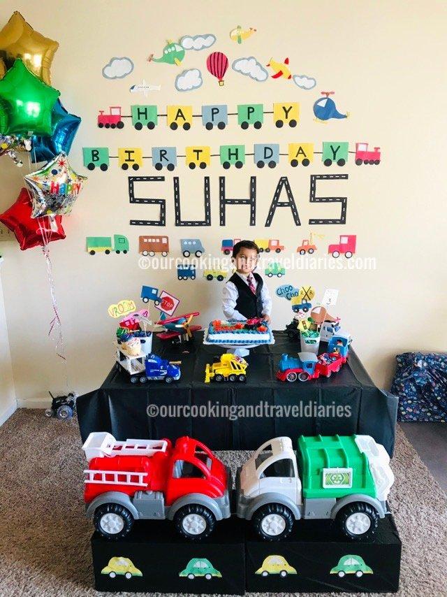 3rd Birthday Decoration Ideas for Boy Best Of Transportation theme Kids Birthday Party Decoration Ideas