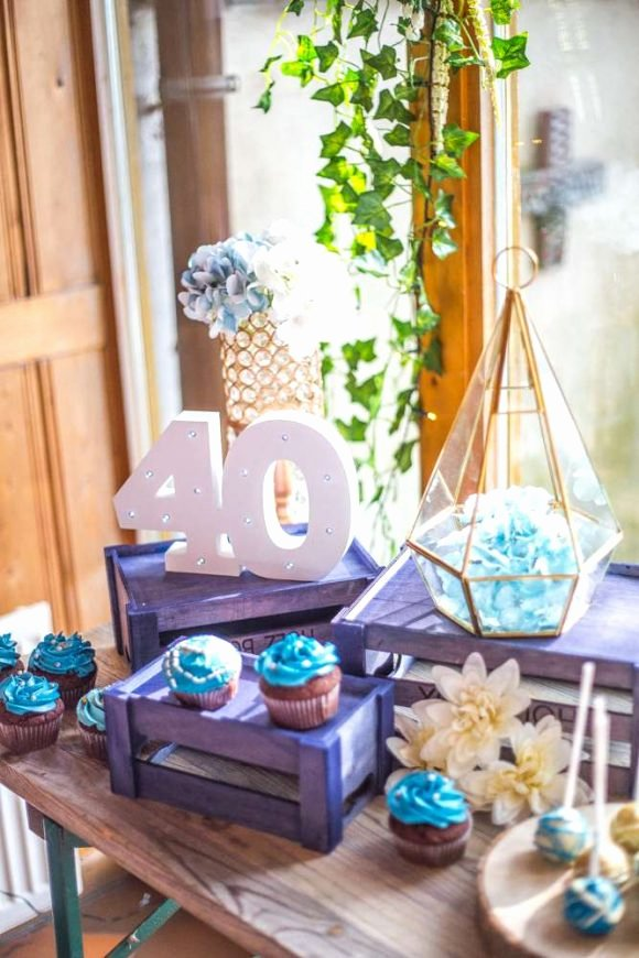 40 Year Birthday Decoration Ideas New Take A Look at the 12 Best 40th Birthday themes for Women