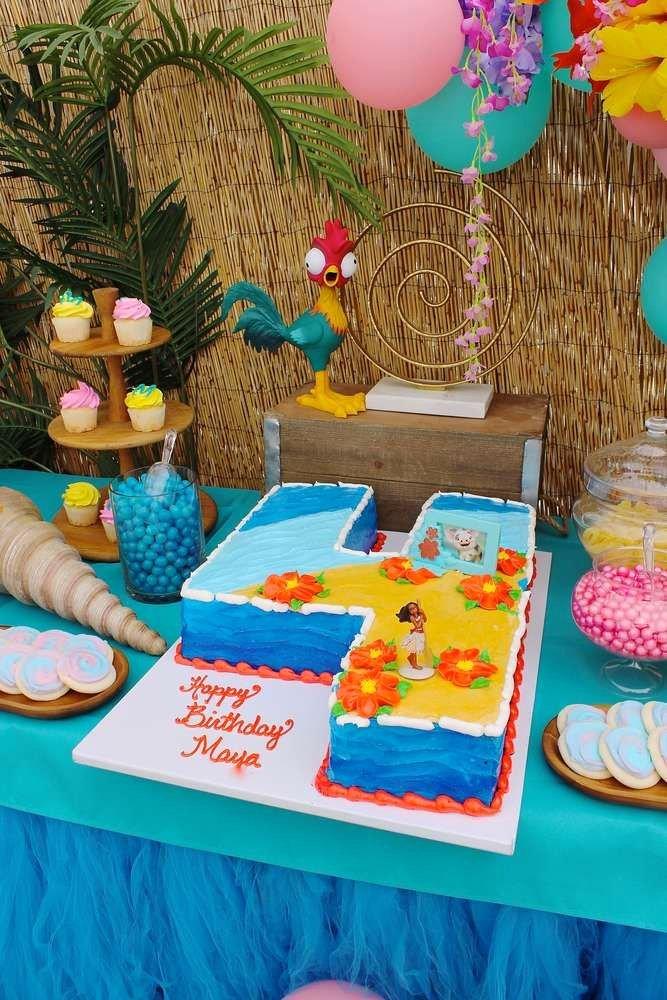 4th Birthday Decoration Ideas for Boy Best Of Moana Birthday Party Ideas 1 Of 14