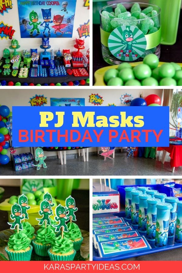 4th Birthday Decoration Ideas for Boy Lovely Pin On Kids Party Ideas