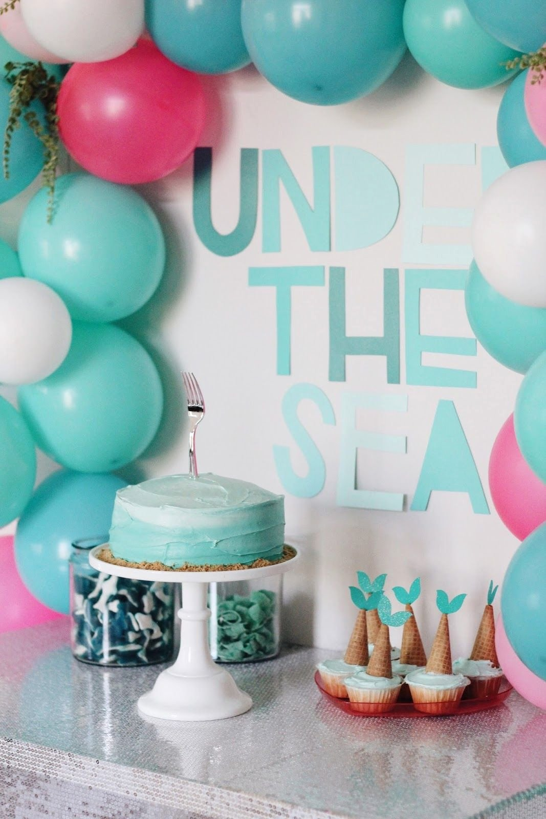 4th Birthday Decoration Ideas Lovely Harper S Mermaid Inspired 4th Birthday Party