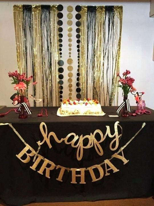 50 Birthday Decoration Ideas for Him Beautiful 50th Birthday Decoration Ideas for Him