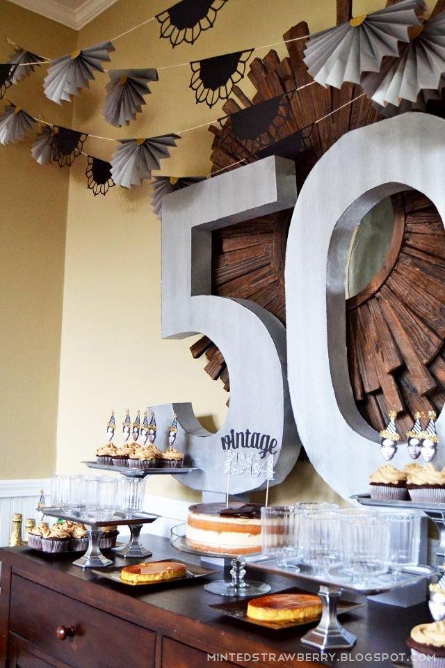 50 Birthday Decoration Ideas for Him Fresh 10 Unique Happy 50th Birthday themes In 2020