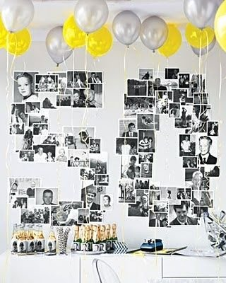 50 Year Old Birthday Decoration Ideas Fresh Here S A Great 50th Birthday Party Idea Pull Out All Those