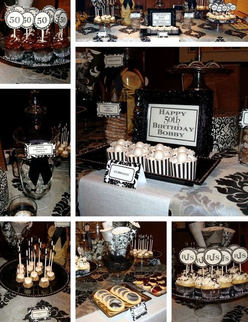 50 Year Old Birthday Decoration Ideas Inspirational 50th Birthday Party Ideas for Men