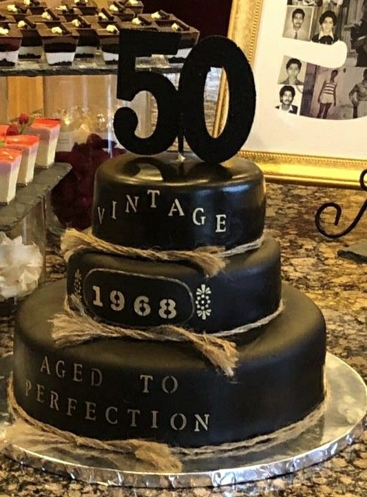 50th Birthday Decoration Ideas for Dad Best Of 50th Birthday Cake