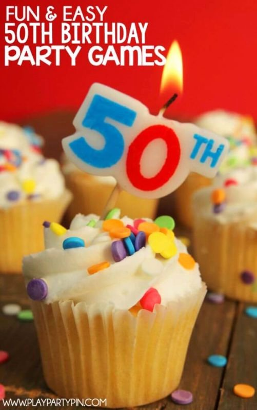 50th Birthday Decoration Ideas for Dad Inspirational the Best 50th Birthday Party Ideas Play Party Plan
