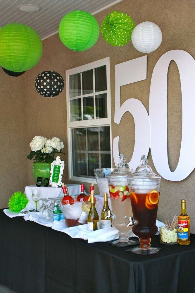 50th Birthday Decoration Ideas for Dad Unique Pin On 50th Birthday Party Ideas