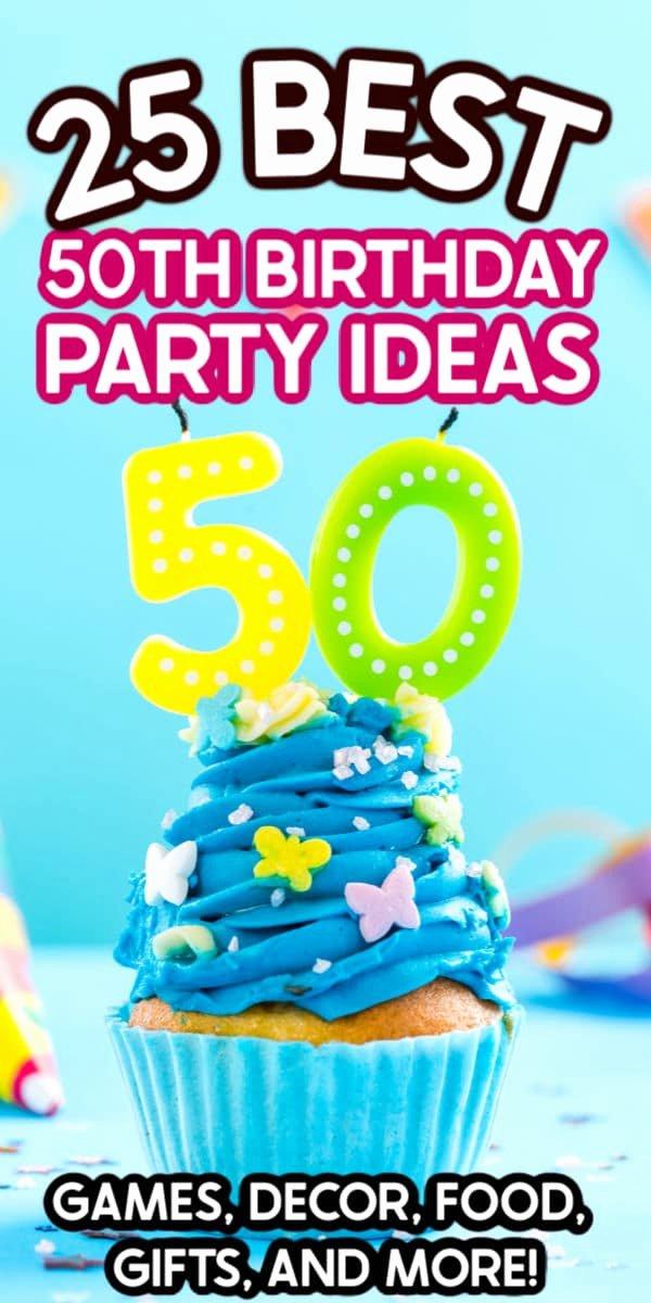 50th Birthday Decoration Ideas for Dad Unique the Best 50th Birthday Party Ideas Play Party Plan