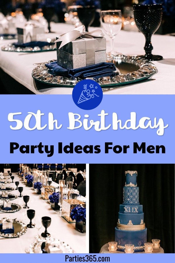 50th Birthday Decoration Ideas for Husband Luxury Ideas for A Masculine Milestone 50th Birthday Party