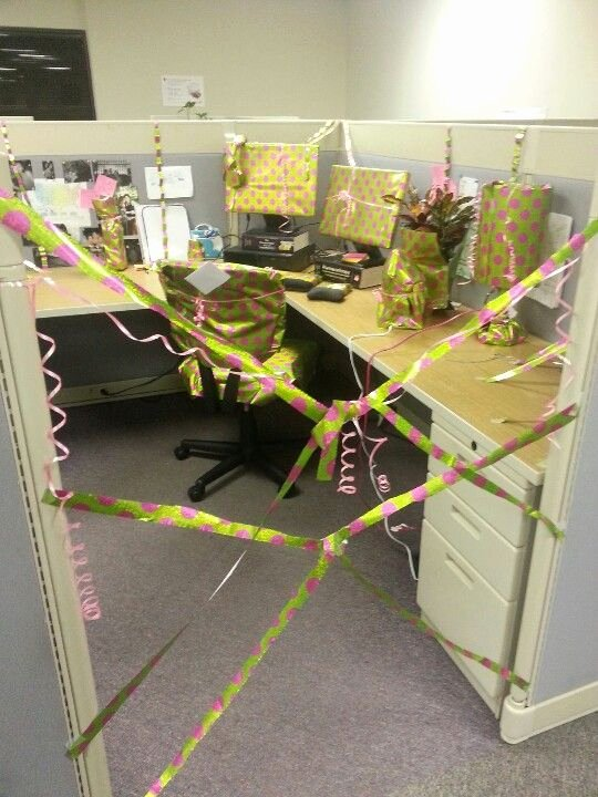 50th Birthday Decoration Ideas for Office Awesome Co Worker Birthday Sabotage Hehe