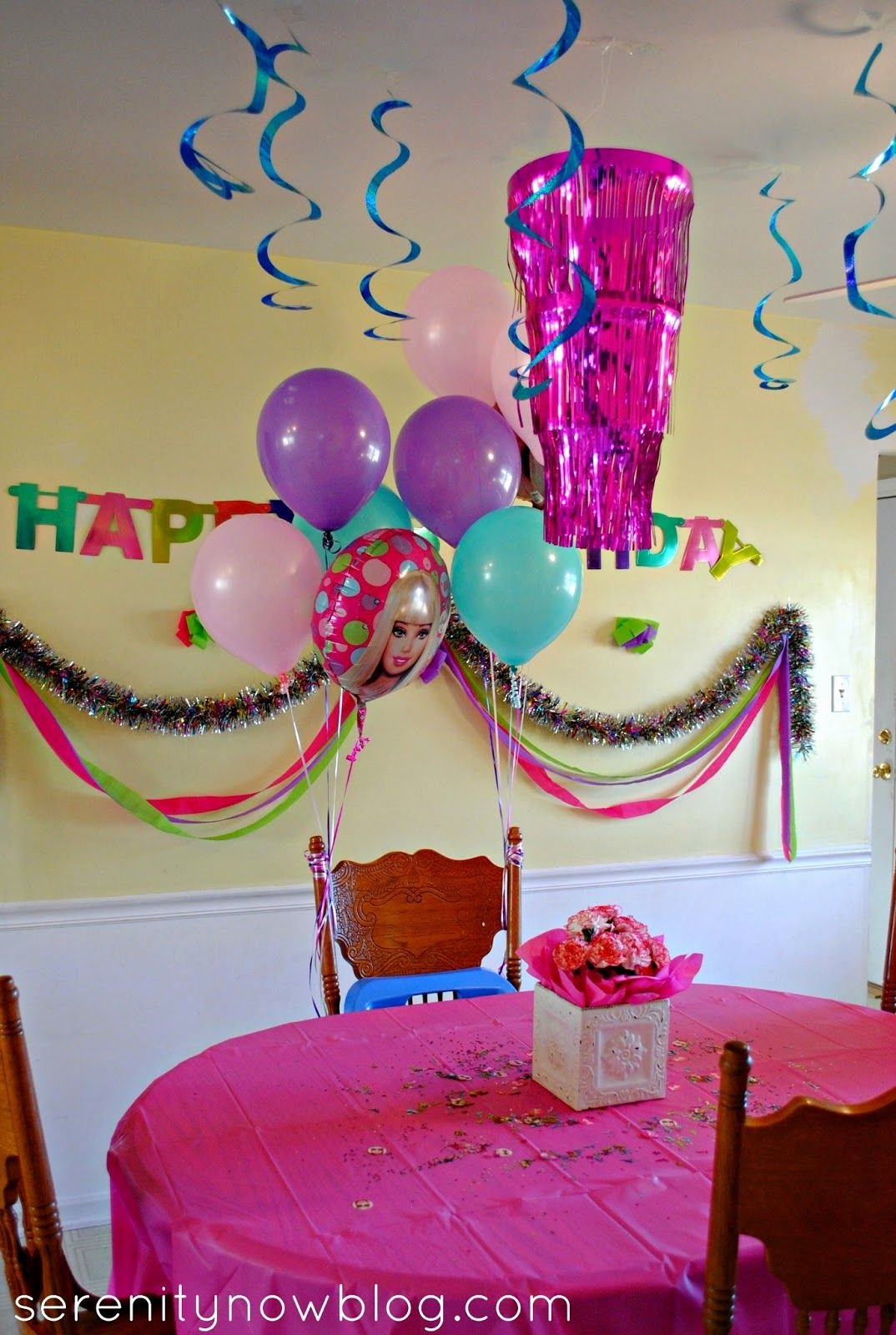 5th Birthday Decoration Ideas at Home Best Of Serenity now Throw A Barbie Birthday Party at Home